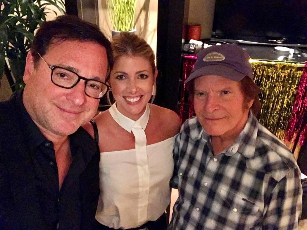 Bob Saget, Kelly Rizzo and John Fogerty. (Jeff Ragazzo)