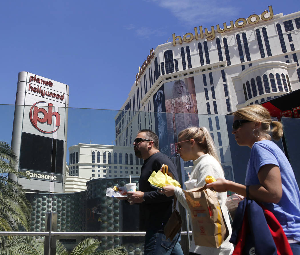 Planet Hollywood on the Las Vegas Strip, April 4, 2017, in Las Vegas. (Christian K. Lee/Las Vegas Review-Journal) @chrisklee_jpeg