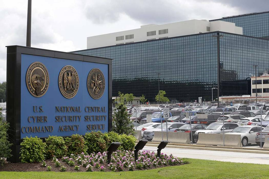 The National Security Agency campus ins located in Fort Meade, Maryland. (Patrick Semansky/AP)