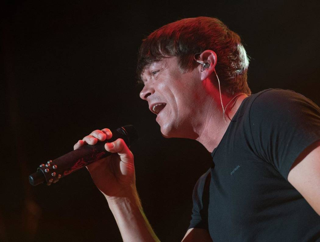 3 Doors Down performs during The Scars and Stripes Festival on Saturday, June 3, 2017, at Downtown Las Vegas Events Center. (Tom Donoghue)