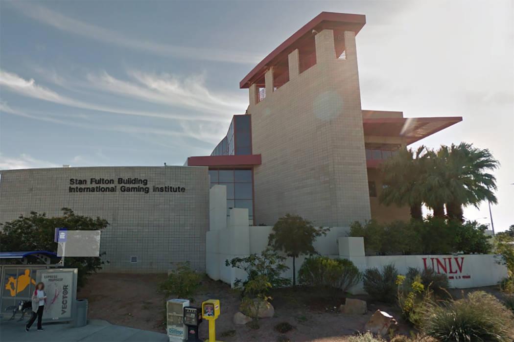 UNLVs International Gaming Institute (Google Street View)