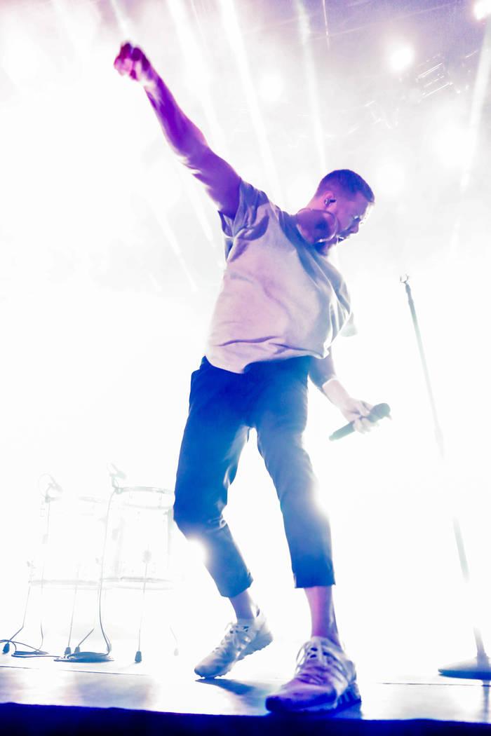 Imagine Dragons - Dan Reynolds KROQ Weenie Roast y Fiesta - Carson - USA - 20 May 2017 (Rex Features via AP Images)