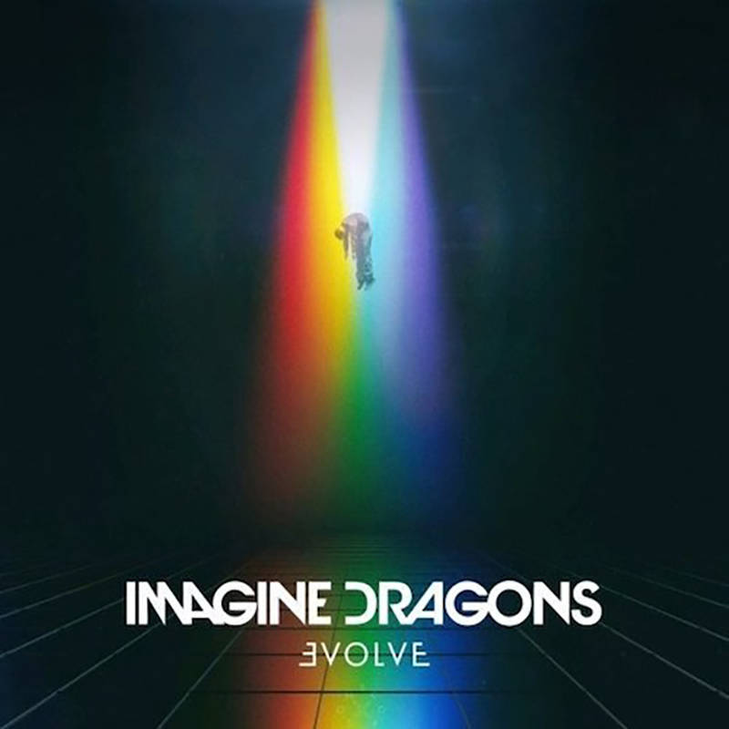 "Imagine Dragons' new record ""Evolve"" is due out Friday (Interscope)"