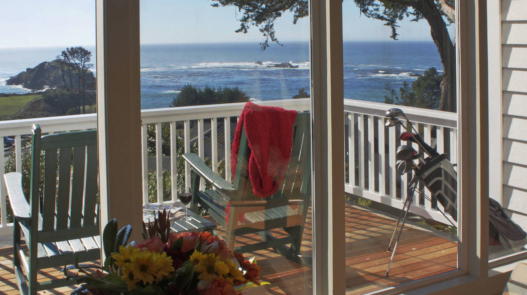 Little River Inn All of the rooms at Little River Inn have views of the Pacific Coast.