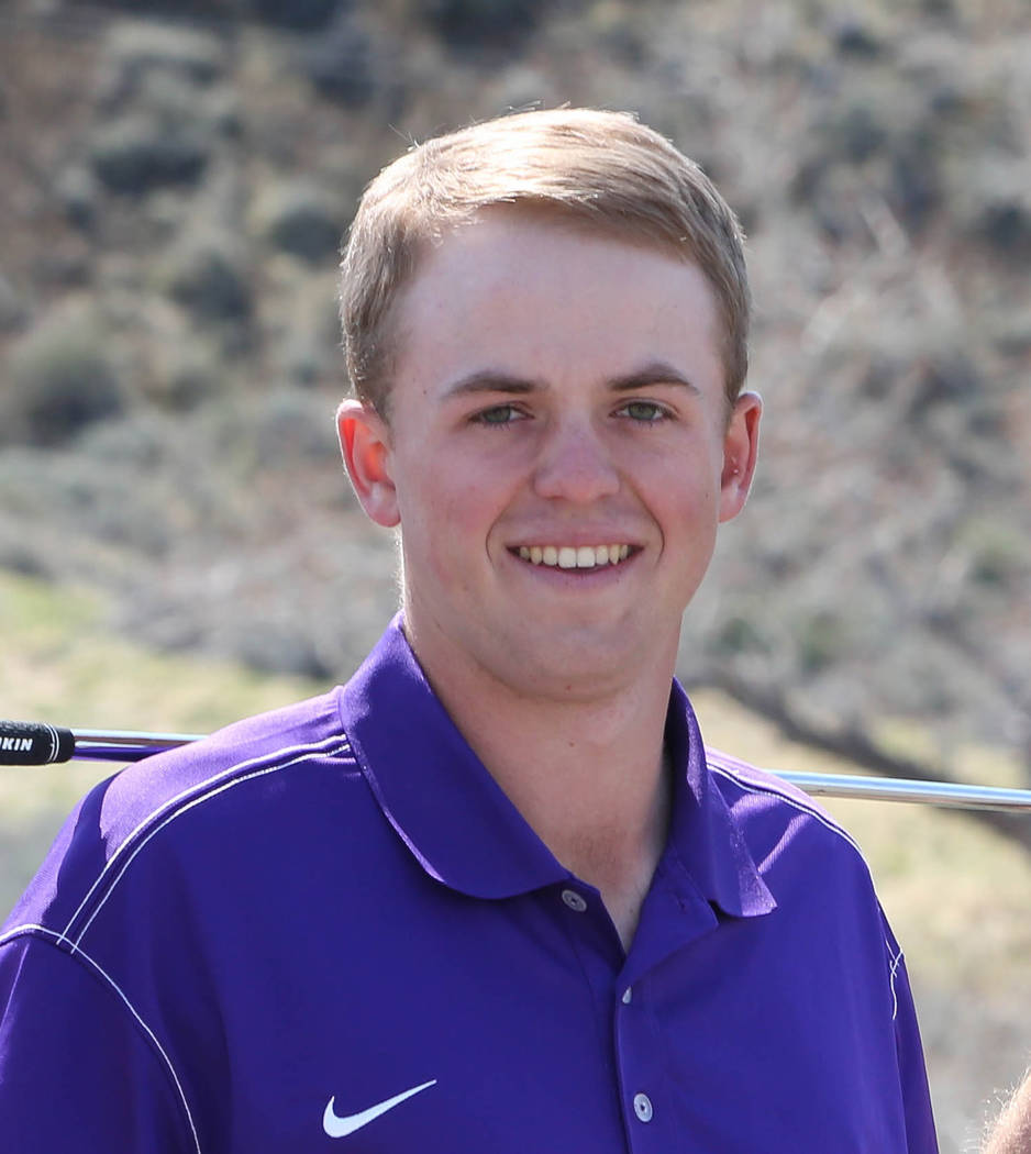 Griffin Cooper, Yerington: The Fresno State-bound senior won the Class 2A state tournament and shot 3-under-par 69 to finish as medalist at the Class 2A Northern Region tournament.