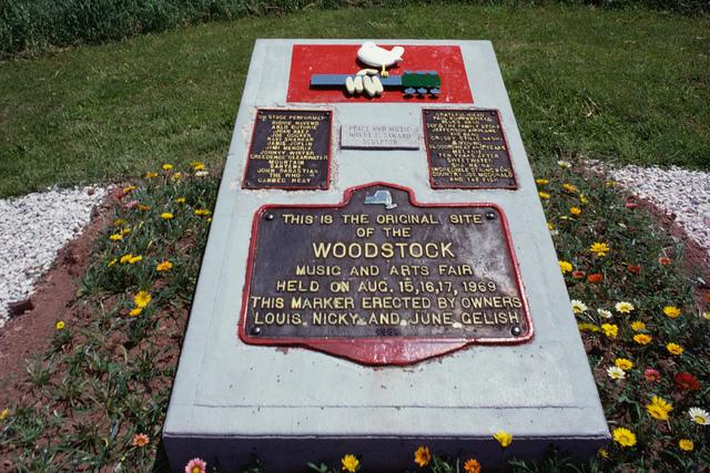 Woodstock memorial plaque (Thinkstock)