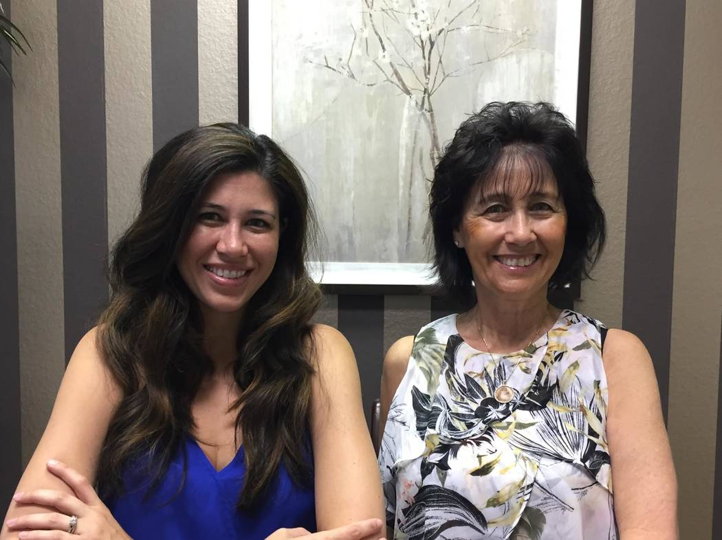 "Shoshana Kunin-Leavitt , left, and her mother, Iśrael ""Ishi"" Kunin are seen in this undated photo from spring 2017. Shoshana followed in her mother's career footsteps and both are lawyers at  ..."