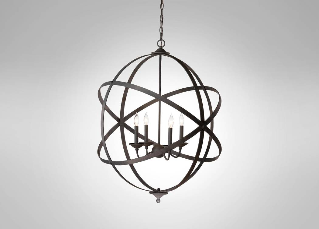 Ethan allen ethan allens navesink chandelier honors the physical and historical beacons of navesink a