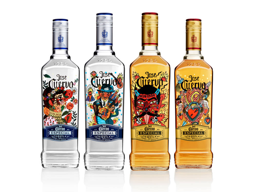 Limited-edition bottles were created for Jose Cuervo's 222nd anniversary. Jose Cuervo