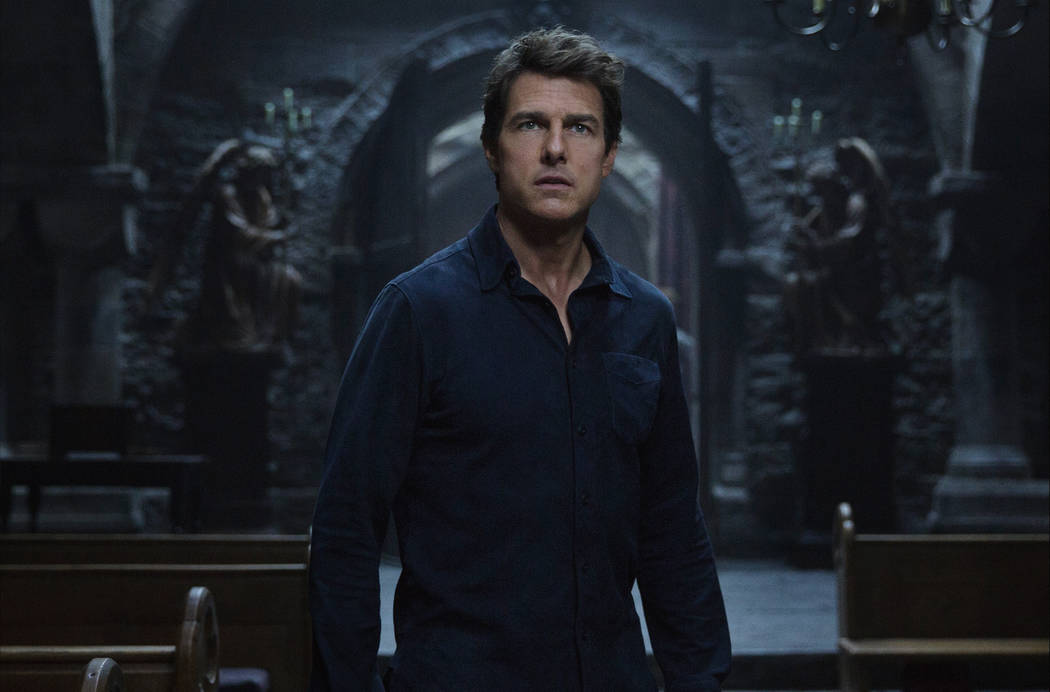 "Tom Cruise headlines a spectacular, all-new cinematic version of the legend that has fascinated cultures all over the world since the dawn of civilization: ""The Mummy."" (Universal Studios)"
