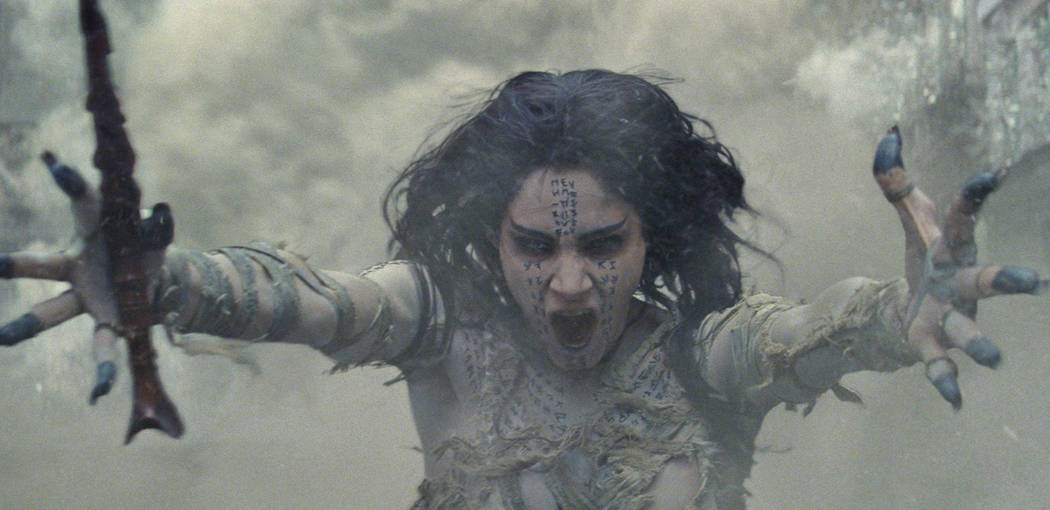 "Sofia Boutella as Ahmanet in a spectacular, all-new cinematic version of the legend that has fascinated cultures all over the world since the dawn of civilization: ""The Mummy."" Universal Studios"