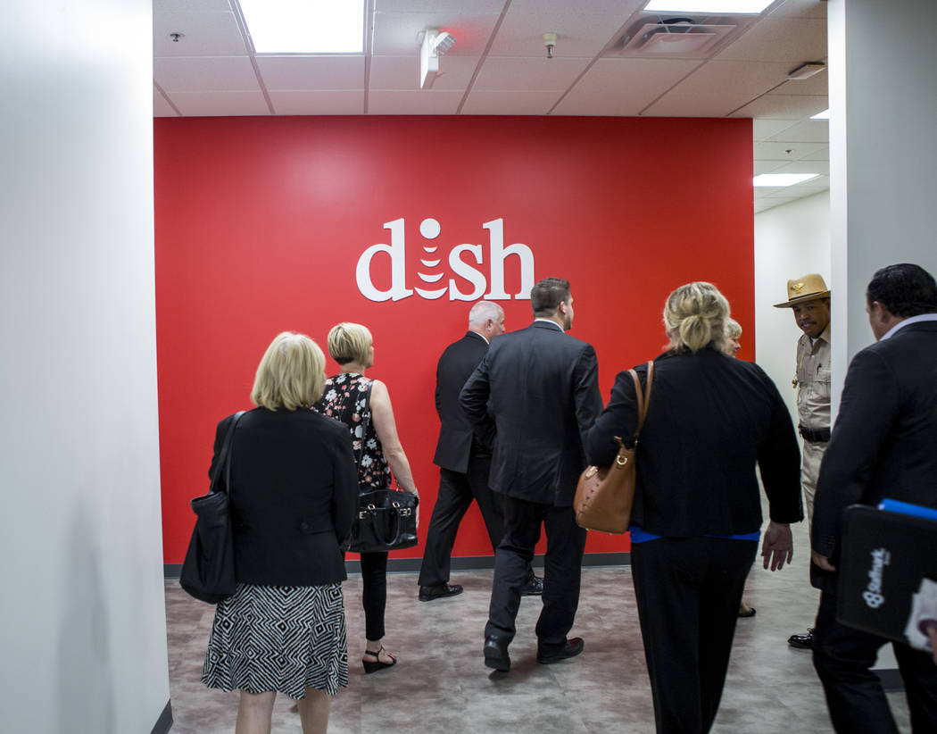 A tour of the new TeleTech call center at the Boulevard Mall in Las Vegas on Thursday, June 8, 2017. Patrick Connolly Las Vegas Review-Journal @PConnPie