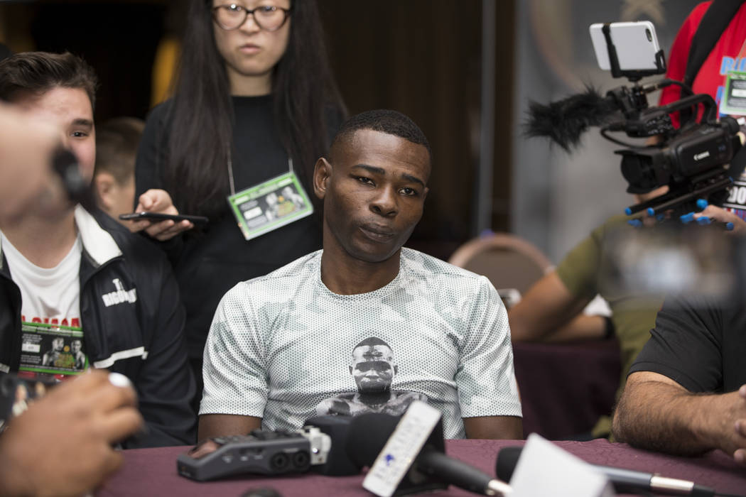 Professional boxer Guillermo Rigondeaux during a press event at the Mandalay Bay casino-hotel on Wednesday, June 14, 2017 in Las Vegas. Erik Verduzco/Las Vegas Review-Journal