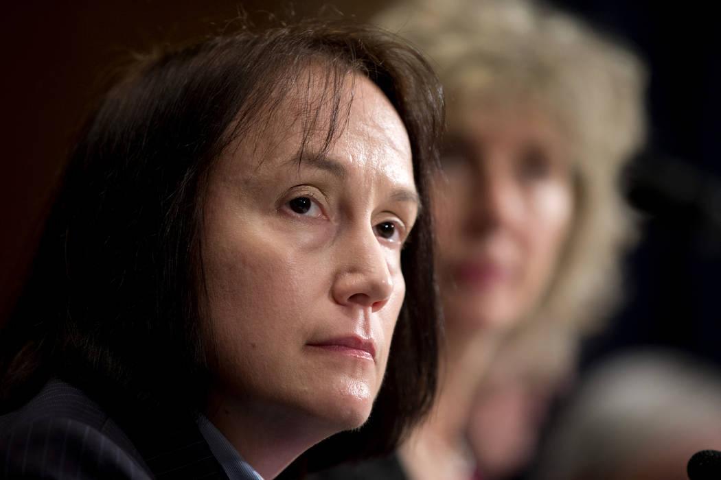 Nuclear Regulatory Commission Chairwoman Kristine Svinicki (Manuel Balce Ceneta/AP)