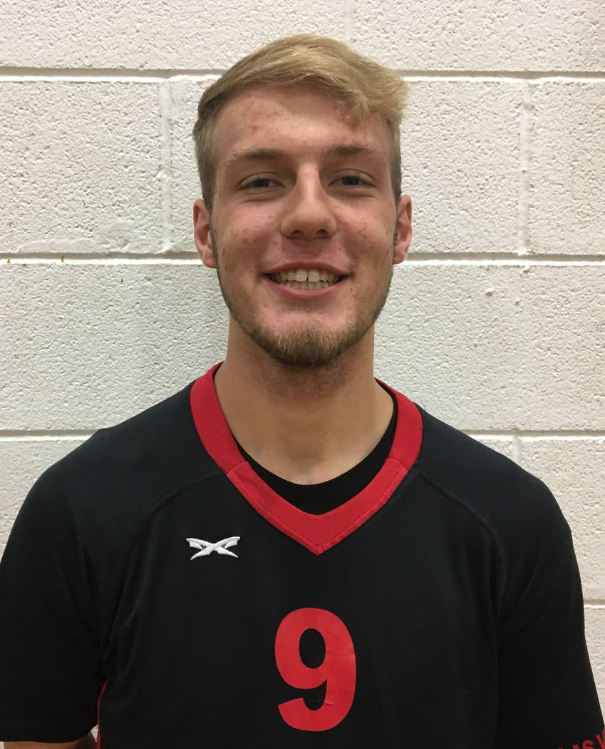 Brandon Kampshoff, Las Vegas: The senior outside hitter had 410 kills, 41 aces and 164 digs for the Sunrise Region champions.