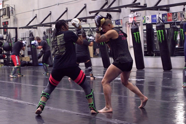 The first Wimp 2 Warrior program to take place in Las Vegas is midway through the 22-week training camp. The competitors discuss their physical and mental progress at this phase of the program. (H ...