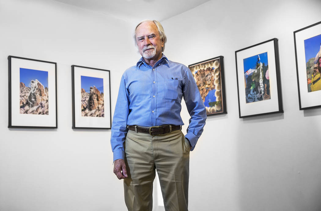 Cultural supervisor Patrick Gaffey on Saturday, June 17, 2017, at the Winchester Cultural Center, in Las Vegas. Benjamin Hager Las Vegas Review-Journal @benjaminhphoto