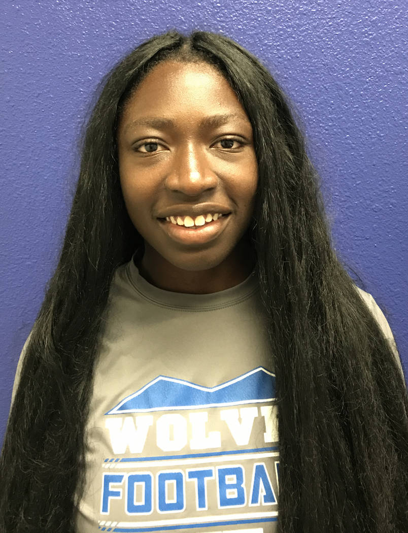 Ogochukwu Immanuela Nwachukwu, Basic: The senior placed third in the Class 4A state discus throw and sixth in the state shot put.