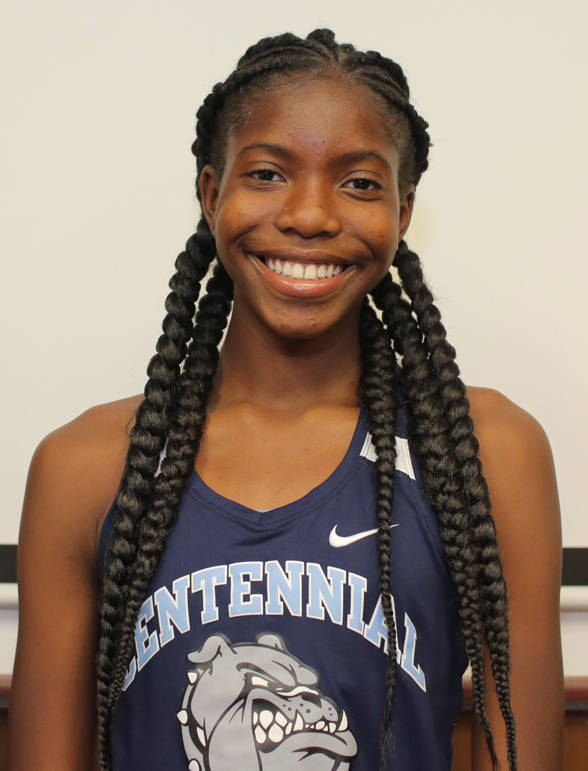 Ashley Moore, Centennial: The freshman finished in second place at the Class 4A state meet in the triple jump, third in the long jump, fourth in the 100-meter hurdles and fourth in the 300 hurdles.