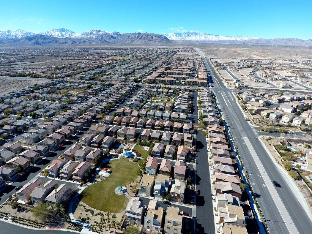 House flippers' share of the market in Las Vegas is down from a year ago. (Michael Quine/Las Vegas Review-Journal) @Vegas88s
