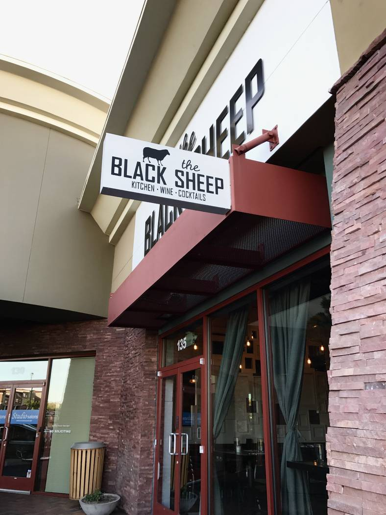 The Black Sheep at Rhodes Ranch Shopping Center opened in May after chef Jamie Tran left the Strip's DB Brasserie.
