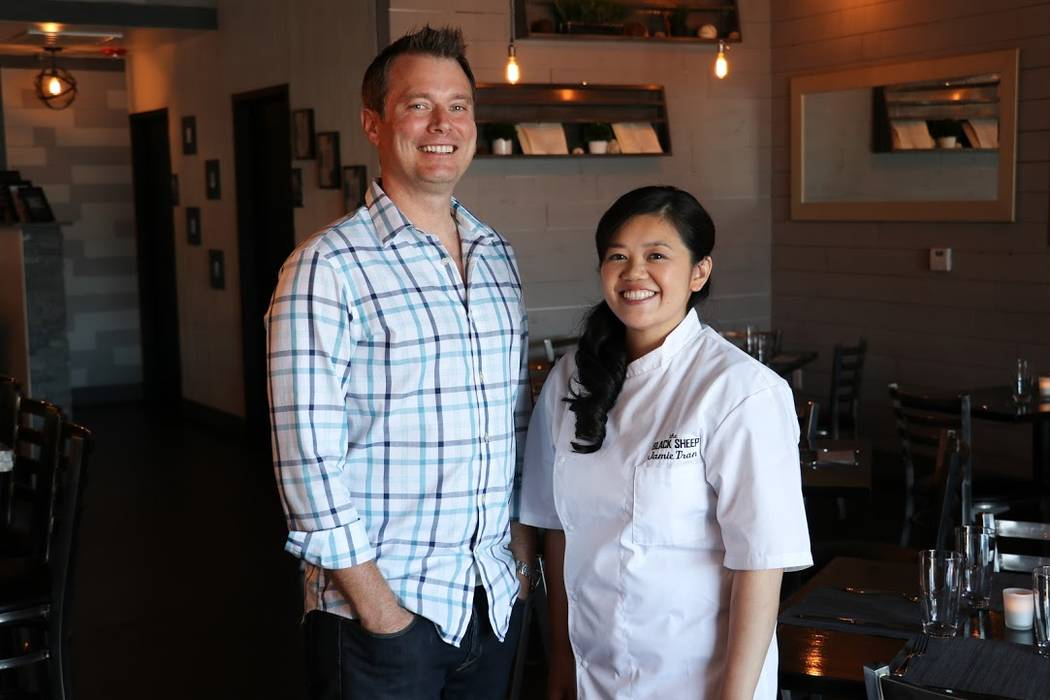 Andy Hooper and Jamie Tran, co-founders of The Black Sheep. Photo by Madison Freedle.