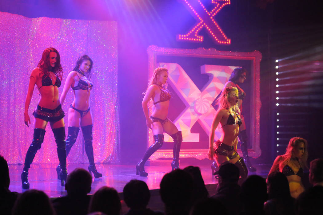 """X Burlesque"" at The Flamingo on Thursday, May 18, 2017, in Las Vegas. (Edison Graff/Stardust Fallout)"