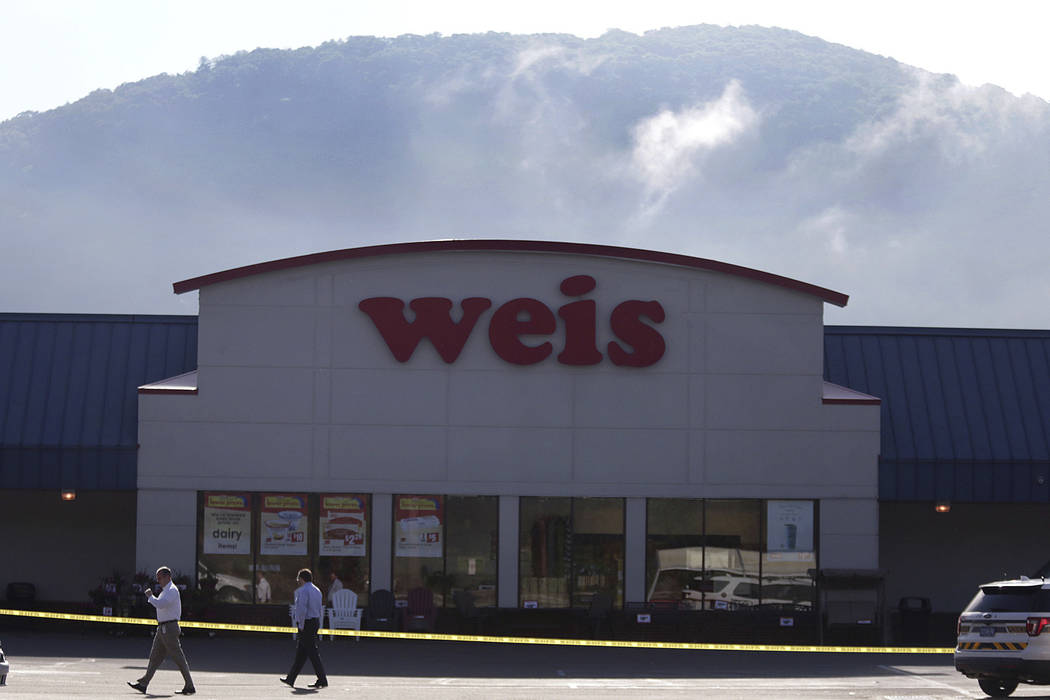 Pennsylvania State Police are investigating the murder of three people and suicide of the shooter 24-year-old Randy Robert Stair, of Dallas, Pa., at the Weis Supermarket on the Hunter Highway in E ...