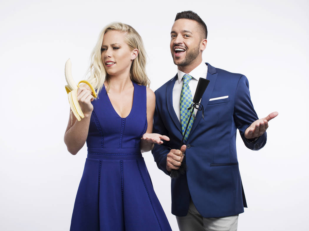 """Kendra Wilkinson and Jai Rodriguez star in """"Sex Tips for Straight Women From a Gay Man."""""""