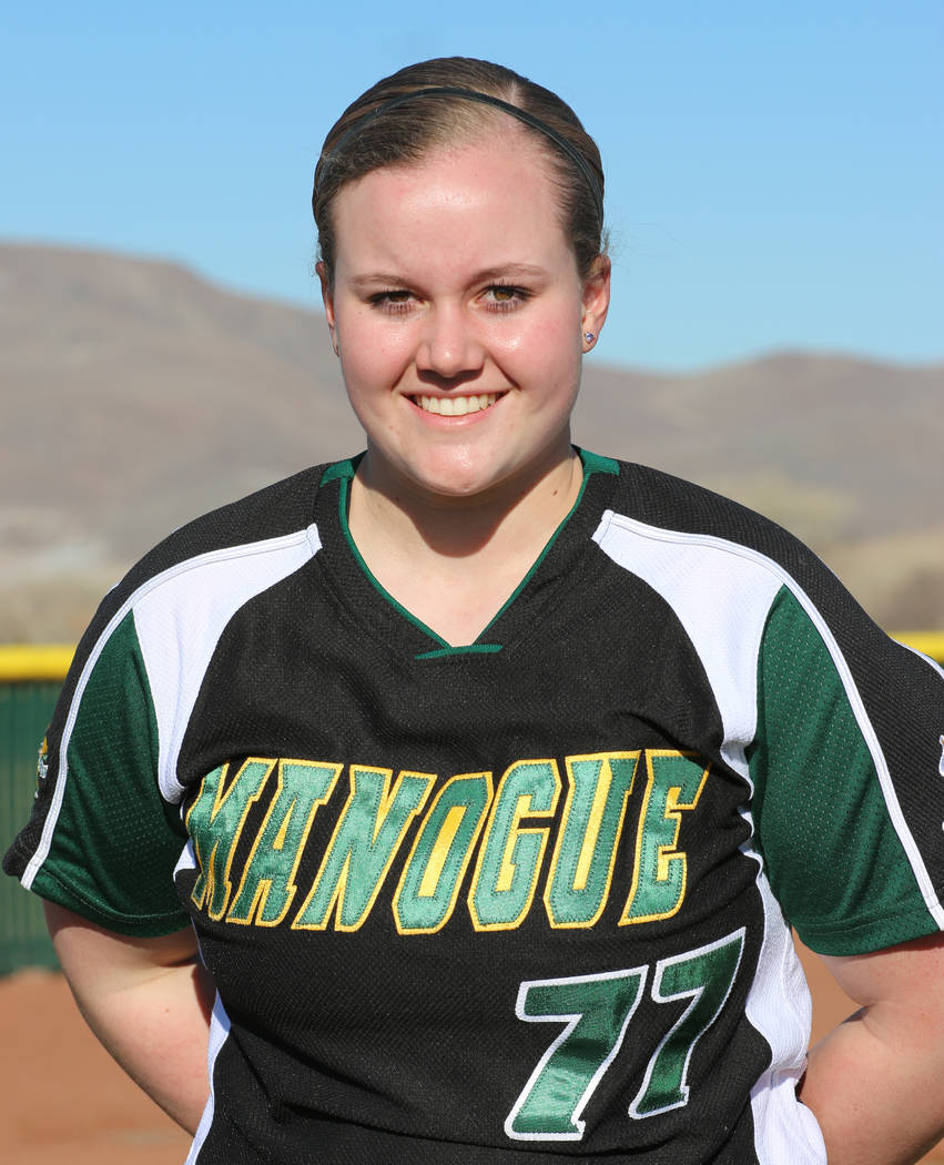 IF Bailey McLaughlin, Bishop Manogue: The junior was a first-team Northern 4A All-Region pick after helping the Miners to the Sierra League title. She had a .480 batting average with 57 RBIs and a ...