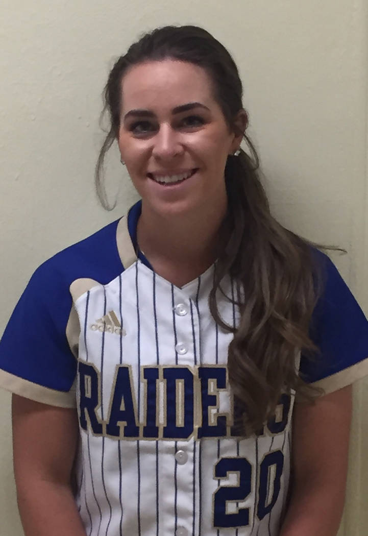 P Julia Jensen, Reed: The senior was the Northern Region Player of the Year and led the Raiders to the Class 4A state title game. Jensen, a UNR signee, was 31-2 with a 0.94 ERA and 386 strikeouts  ...