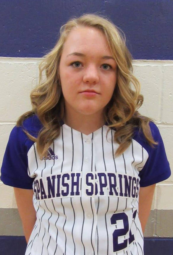 P Tyra Clary, Spanish Springs: The freshman for the Cougars earned Pitcher of the Year honors in the 4A Northern Region, going 14-6 with a 2.17 ERA.