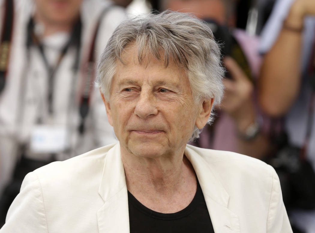 "FILE - In this May 27, 2017 photo, director Roman Polanski appears at the photo call for the film, ""Based On A True Story,"" at the 70th international film festival, Cannes, south ..."