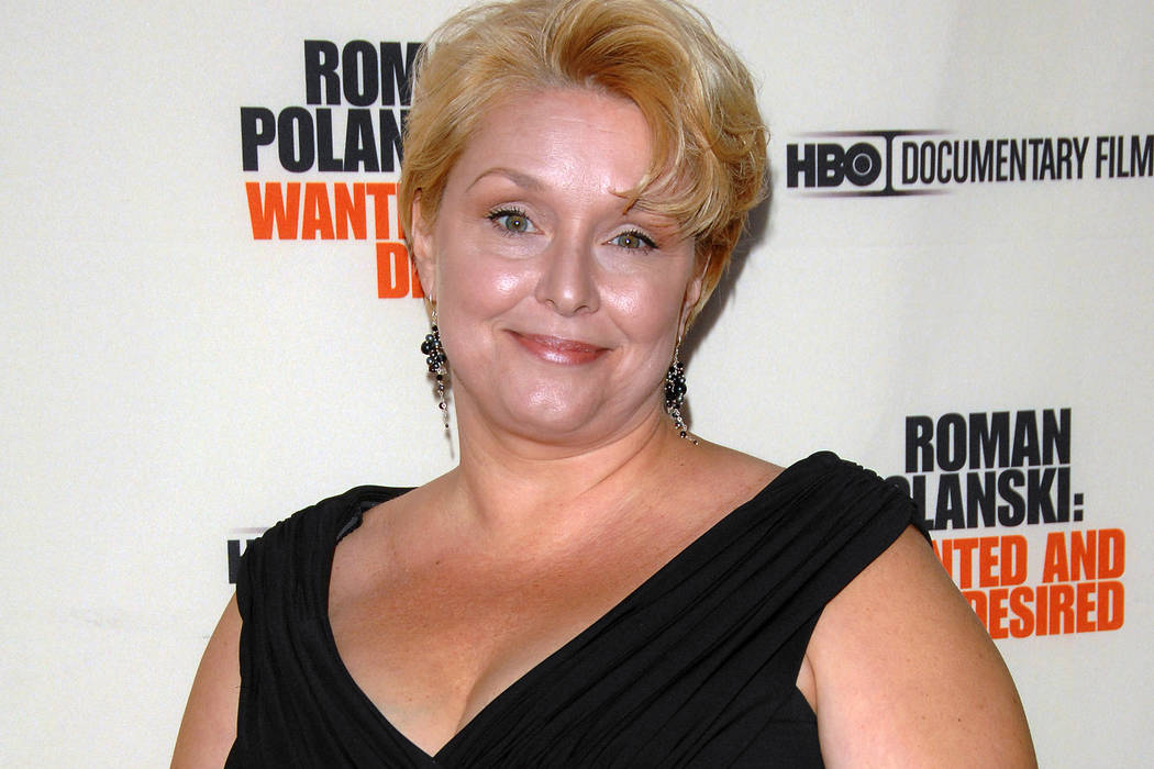 "Samantha Geimer arrives at the premiere of the HBO Documentary ""Roman Polanski: Wanted and Desired"" in New York on May 6, 2008. Geimer will appear Friday, June 9, 2017 in Los Angeles Superior Cour ..."