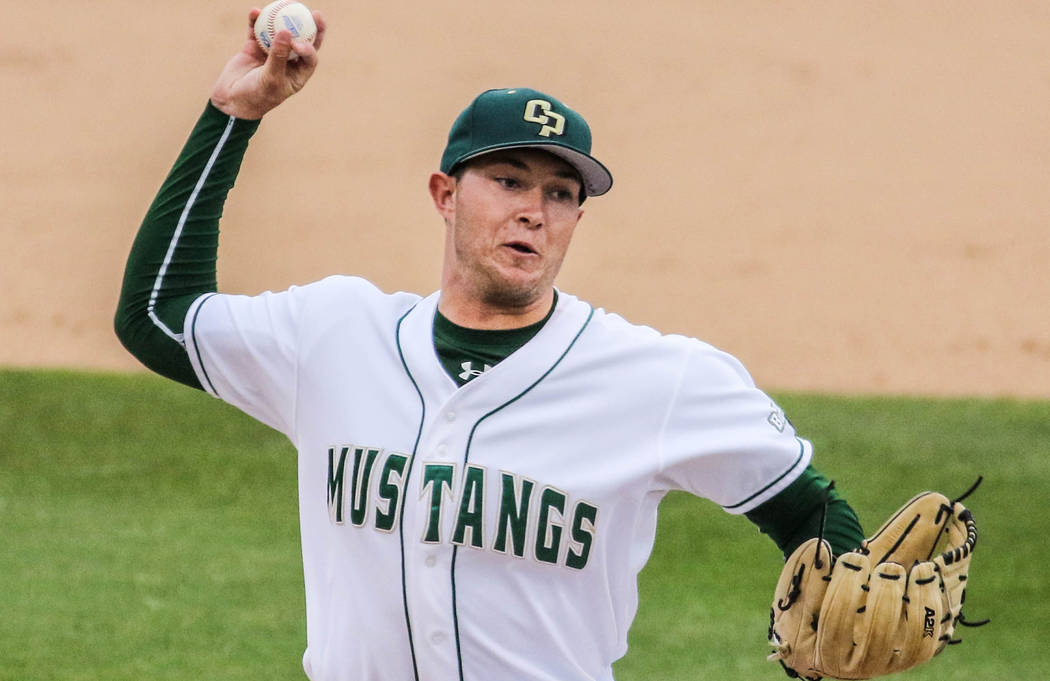 Cal Poly (Calif.) right-hander Erich Uelmen, a Faith Lutheran graduate, was selected by the Chicago Cubs in the fourth round and 135th overall in the Major League Baseball draft on June 13, 2017.  ...