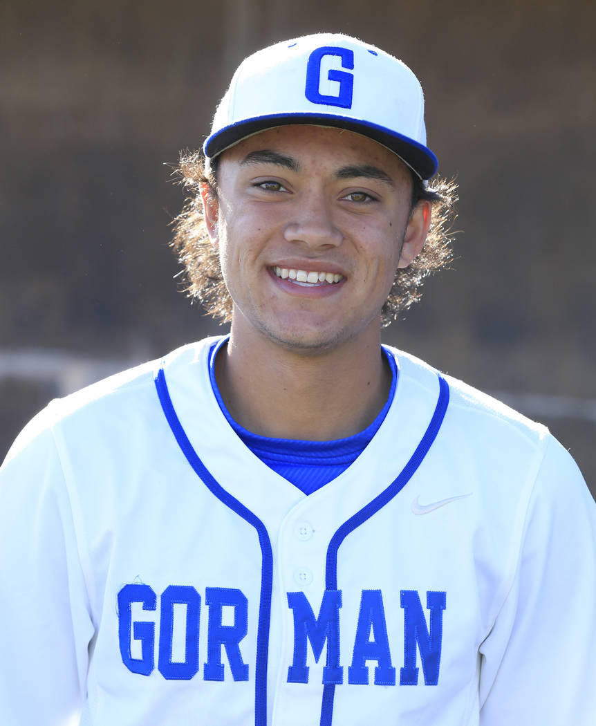 OF Jorel Hingada, Bishop Gorman: The senior center fielder batted .386 with seven home runs, 35 RBIs and a team-high 49 runs. He also had eight doubles and five triples and 10 stolen bases. Hingad ...