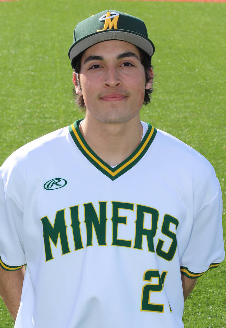 P Michael Davis, Bishop Manogue: The senior went 6-3 with a 2.51 ERA and 67 strikeouts in 55 innings. He also hit .392 with four homers and 33 RBIs. Davis was a first-team All-Northern Nevada pick.