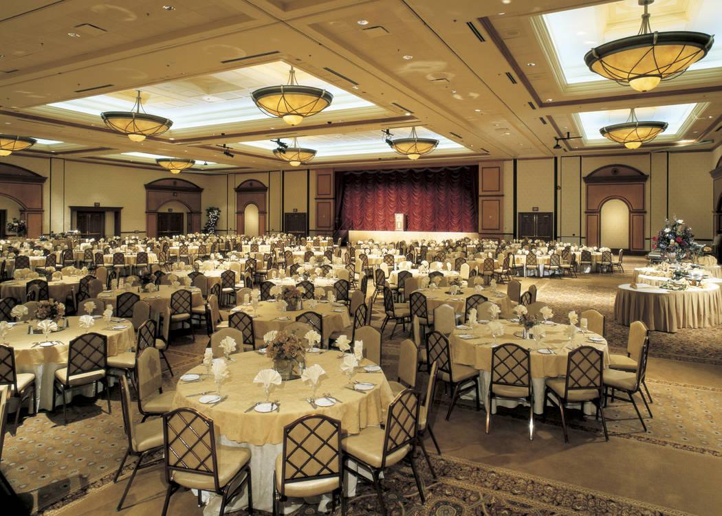 The Dallas ballroom at Texas Station, 2101 Texas Star Lane. (Laura Carroll/Station Casinos)