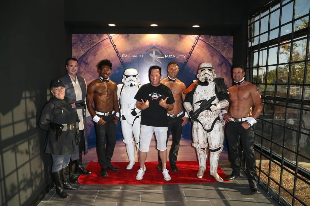 The grand opening of Escape Reality USA on Monday, June 5, 2017, in Las Vegas. (Gabe Ginsberg)