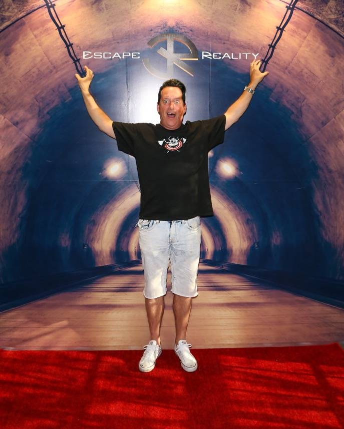 Anthony Cools attends the grand opening of Escape Reality USA on Monday, June 5, 2017, in Las Vegas. (Gabe Ginsberg)