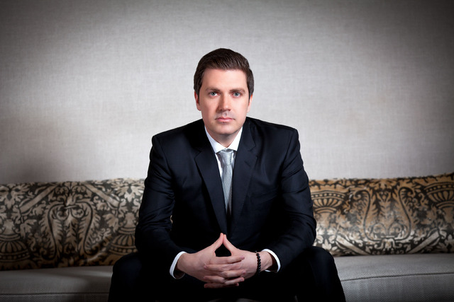 Electric Daisy Carnival founder and Insomniac CEO Pasquale Rotella at The Hard Rock Hotel in Las Vegas in 2012. (Erik Kabik)