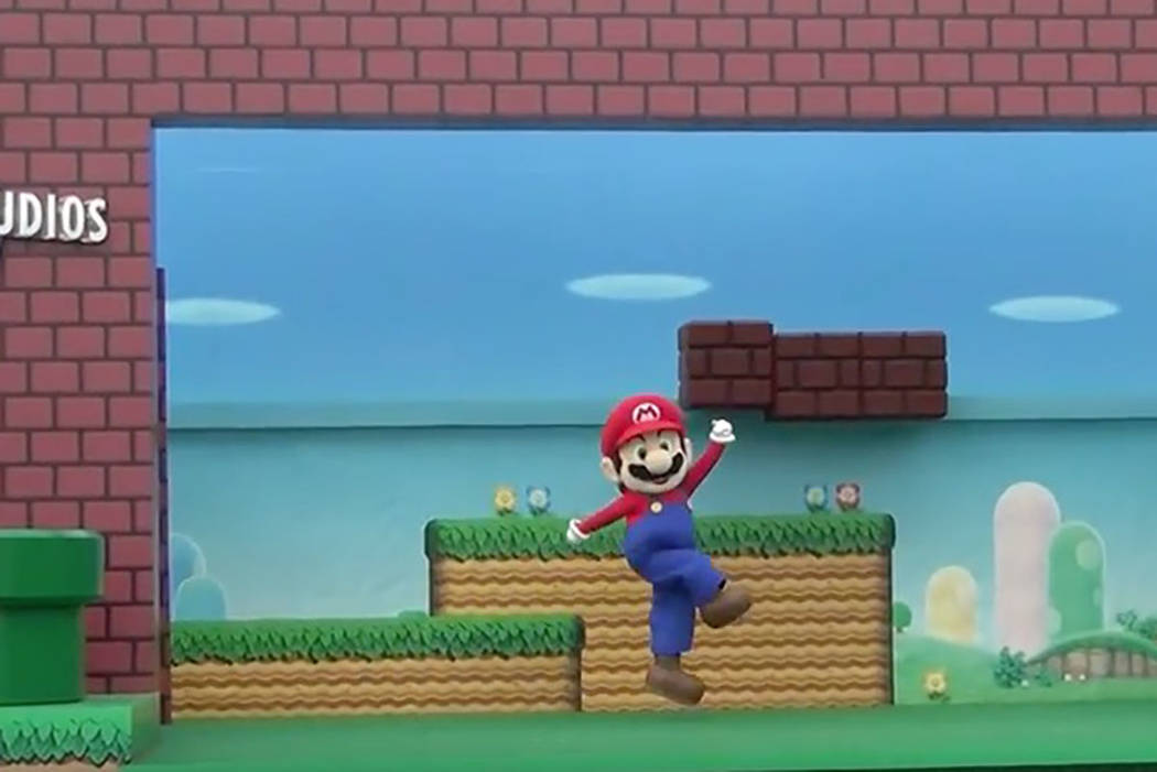 The festivities kicked off with a welcome from Mario, Nintendo's moustached mascot. (Screengrab/Youtube)