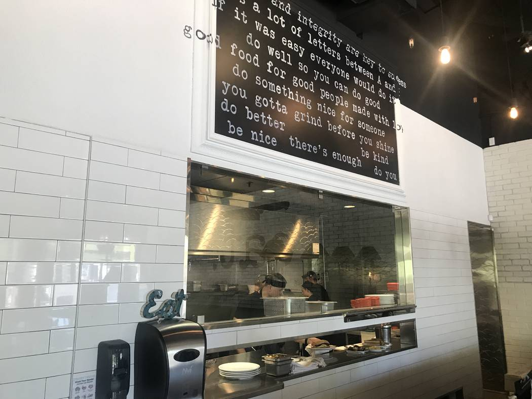 Behind the counter at Eat Summerlin. (Al Mancini)