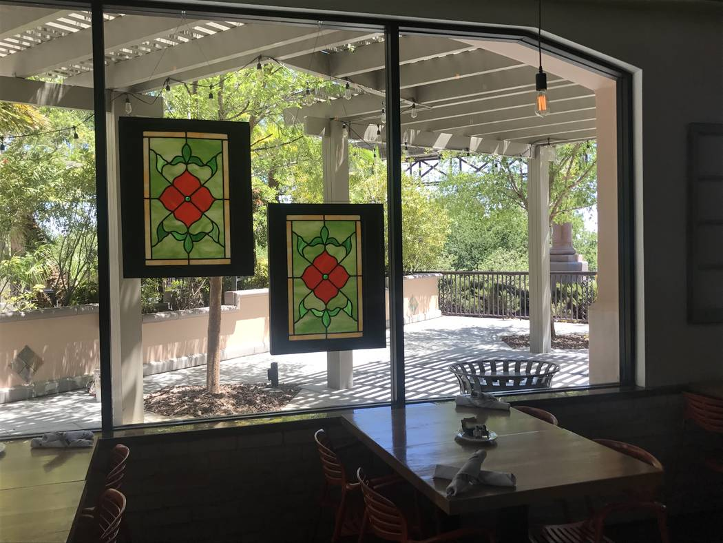 Patio seating will wait for more appropriate weather at Eat Summerlin. (Al Mancini)