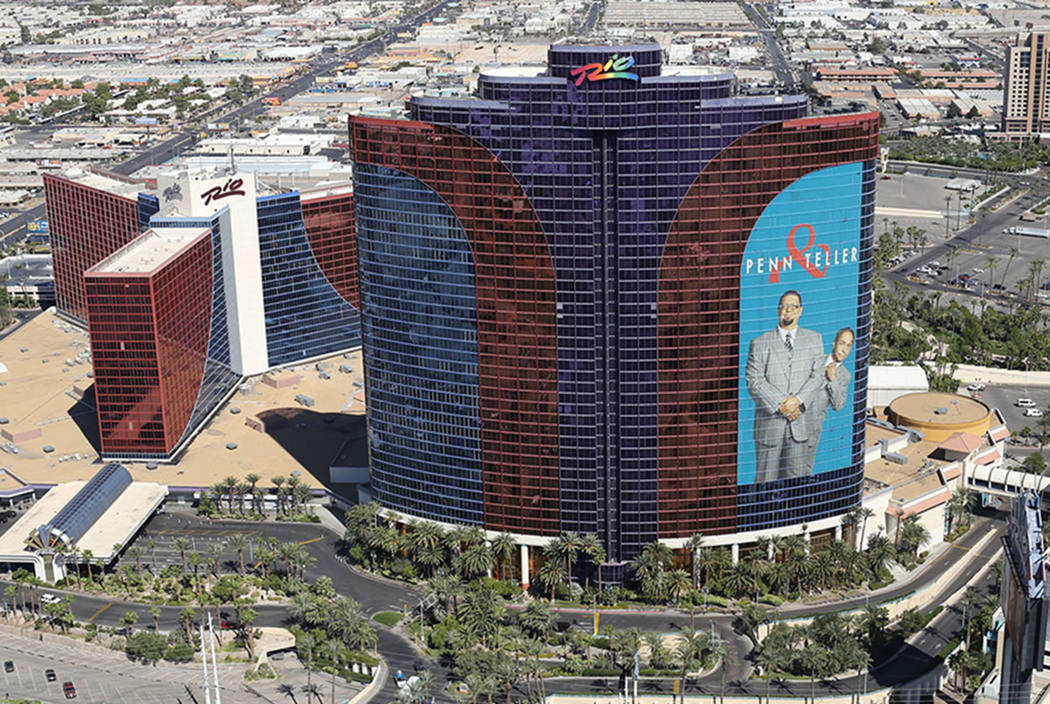 The Rio hotel-casino in Las Vegas (Brett LeBlanc/Las Vegas Review-Journal)