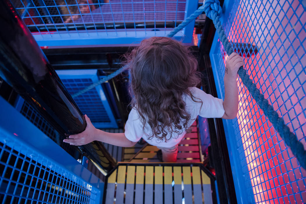 The Discovery Children's Museum is a three story museum in Downtown Las Vegas and was visited by many kids that just went on summer break on Friday, June 9, 2017. Morgan Lieberman Las Vegas Review ...