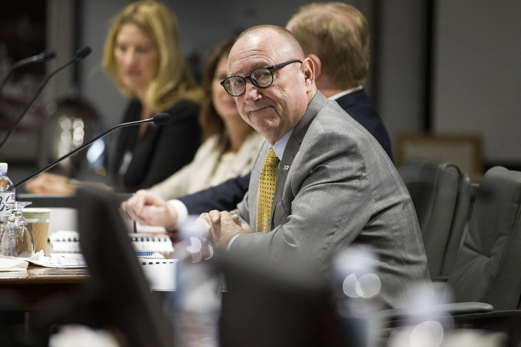 Las Vegas Convention and Visitors Authority President Rossi Ralenkotter during a LVCVA meeting on Tuesday, June 13, 2017 in Las Vegas. Erik Verduzco/Las Vegas Review-Journal