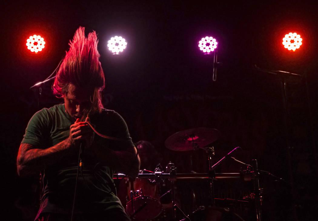 Tentacles performs during Las Vegas Death Fest on Saturday, June 10, 2017, at Backstage Bar & Billiards, in Las Vegas. Benjamin Hager Las Vegas Review-Journal @benjaminhphoto