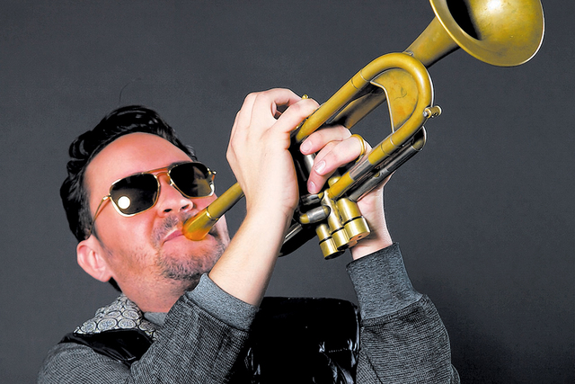 "Las Vegas trumpet great Joey Pero is a member of the Broadway musical ""Bandstand."" (Audrey Dempsey)"