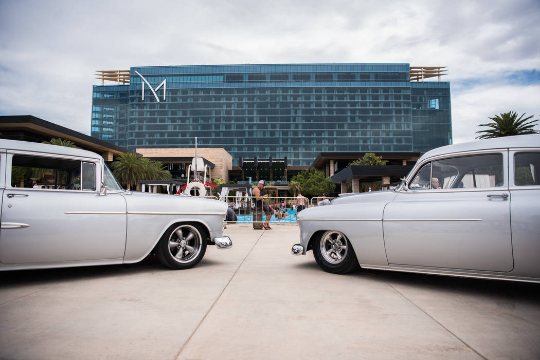 Beers, Gears & Bikinis, a car show, was held at the M Resort on Saturday, June 10, 2017, in Las Vegas. The event featured over 40 cars in competition. Morgan Lieberman Las Vegas Review-Journal